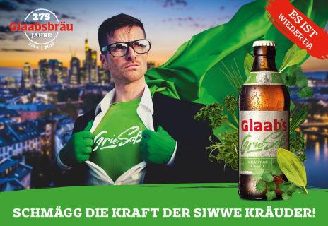 Glaabsbräu GieSoß Werbung